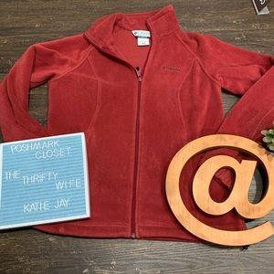 Columbia Fall Faves Burnt Orange Jacket Size Med